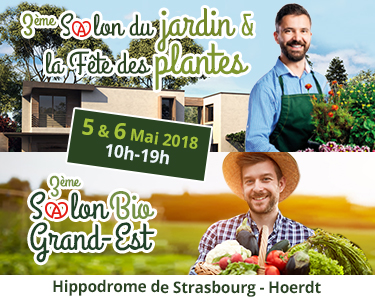 salon du jardin & fête des plantes, salon bio grand est Strasbourg