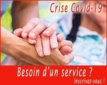Site pour échanges de services pendant la crise du Covid-19