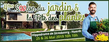 4ème Salon du Jardin les 25 & 26 Mai 2019 Hippodrome de Strasbourg-Hoerdt
